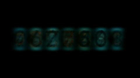 number digital background Stock Video Footage