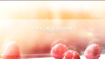 Parallax Slideshow stock footage