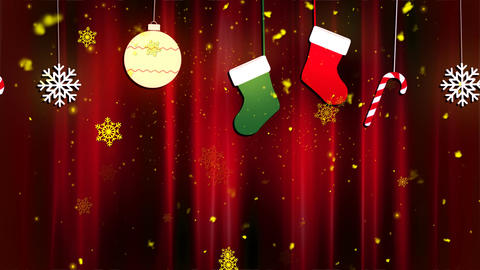 Christmas Cloth Ornaments 2 Animation