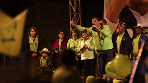 Rafael Correa Speech Part 5 Live Action
