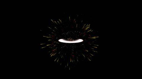 惑星爆発 Animation