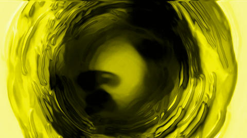 rotate deep yellow tunnel hole,light wire,cosmos swirl hole,nuclear fission Animation