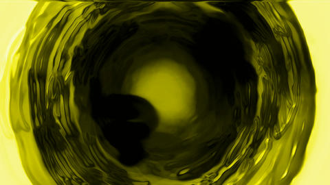 rotate deep yellow tunnel hole,light wire,cosmos swirl... Stock Video Footage
