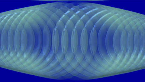 plastic circle round cross,radar ripple pulse Stock Video Footage