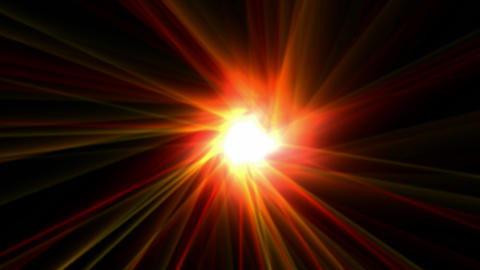 power rays laser and fire in super space,dazzling god…, Stock Animation
