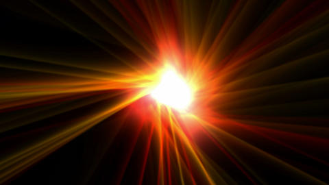 power rays laser and fire in super space,dazzling god spirit light,energy tech fibre optic cable ray Animation