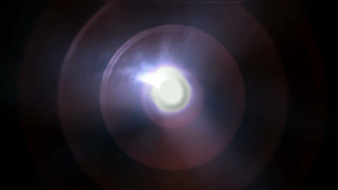 plastic circle round and rays laser light,radar ripple pulse Stock Video Footage