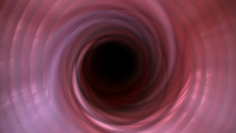 whirl deep tunnel hole and blackhole,gearwheel pipeline... Stock Video Footage
