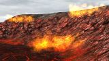 Volcanic Fire stock footage