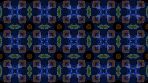 flower cloth and mosaics tile,east lotus flower... Stock Video Footage