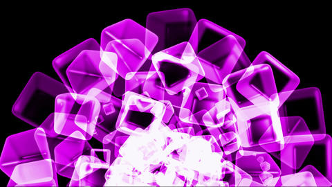 purple ice block,crystal jewelry necklace,flying glass... Stock Video Footage