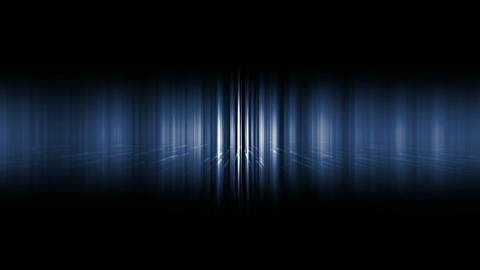 dazzling blue noise rays light in space,audio... Stock Video Footage