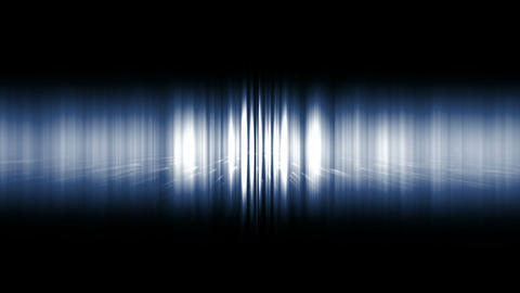 dazzling blue noise rays light in space,audio rhythm,static waveform degraded Animation