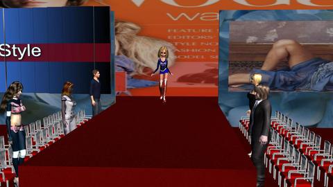 fashion walk Stock Video Footage