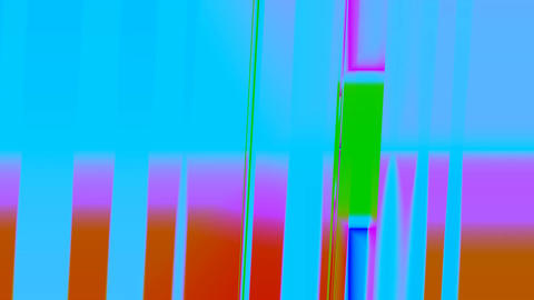 Rotating color bands Stock Video Footage