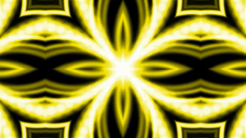 shine golden electricity flower fancy pattern and fibre optic cable as disco neon,energy tech field Animation