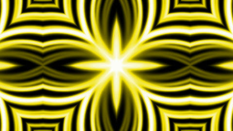 shine golden electricity flower fancy pattern and fibre... Stock Video Footage