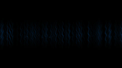 abstract blue water wave,energy curl lines drop as... Stock Video Footage