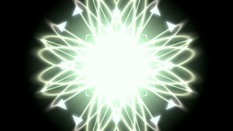 fiber optic curve shaped flower pattern,dazzling rays... Stock Video Footage