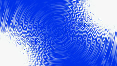 blue water ripple & abstract crease waves Animation