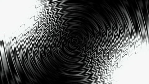 abstract black crease waves & water ripple Animation