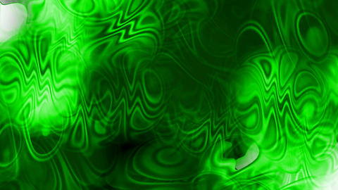 abstract green ripple and waves background,Psychedelic flow liquid Animation
