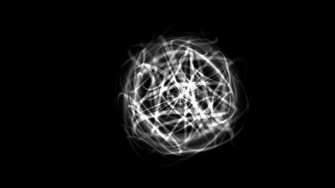 dazzling power electric net & magnetic fields in... Stock Video Footage