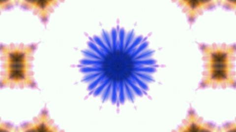 explosion budhist flower pattern,kaleidoscope,music... Stock Video Footage