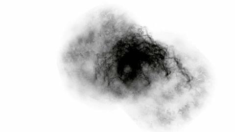 black smoke & fog Stock Video Footage