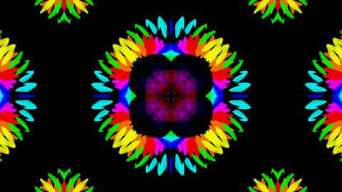 flower pattern wedding background,gorgeous orient religion fancy Animation