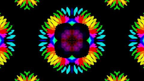 flower pattern wedding background,gorgeous orient... Stock Video Footage