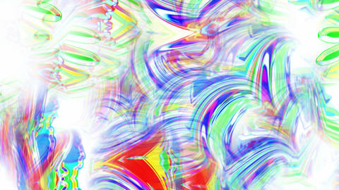 abstract art colorful ripple and stripes... Stock Video Footage