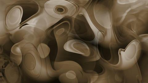 brown ripple in flow viscous liquid Stock Video Footage