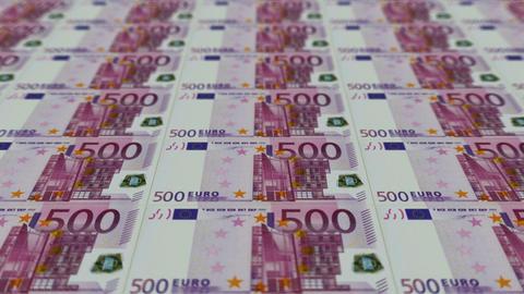 500 euro bills,Printing Money Animation Animation