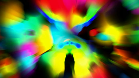 abstract dazzling rays light Stock Video Footage