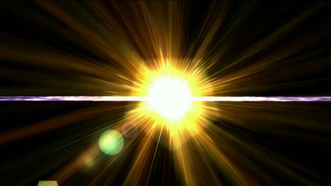 golden sunlight,corona,eclipse,ray lasr light Stock Video Footage