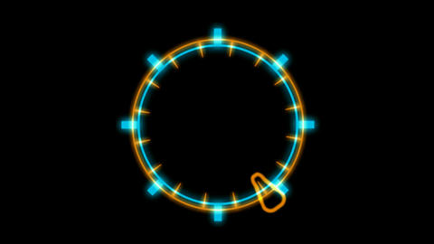 Weapons radar,computer game interface.clocks,pointers,particle,Led,cans,Design,pattern,neon lights,m Animation