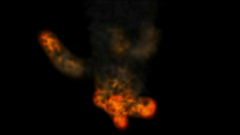 High Definition Bomb Explosion,Fire and smoke.Lava,melting,magma,Fireworks,flame,gas,battlefield,cre Animation