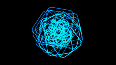 blue coil light,electromagnetic... Stock Video Footage