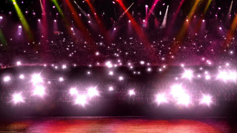 concert camera red flash light Animation