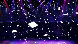 concert confetti Stock Video Footage