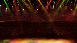 concert spotlight color change Stock Video Footage