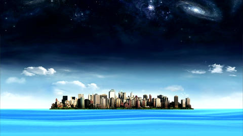 city water1 Animation