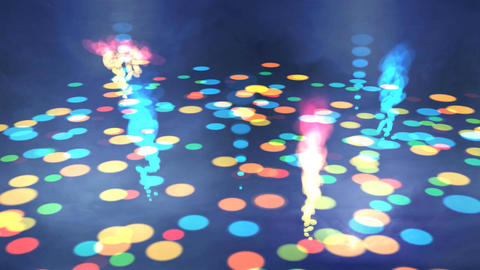 Bubbling Disco Floor Stock Video Footage