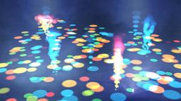 Bubbling Disco Floor Stock Video Footage