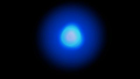 blue blur light,mystery aura... Stock Video Footage