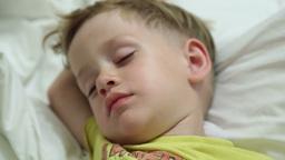 The little boy sleeps Live Action