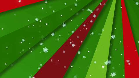 Christmas Retro Bg 3 Animation