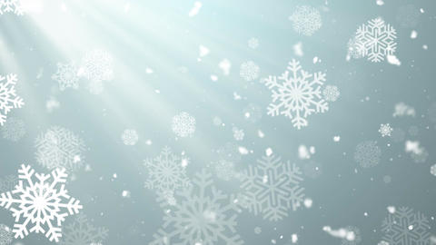 Christmas Winter Snowflakes 1 Animation
