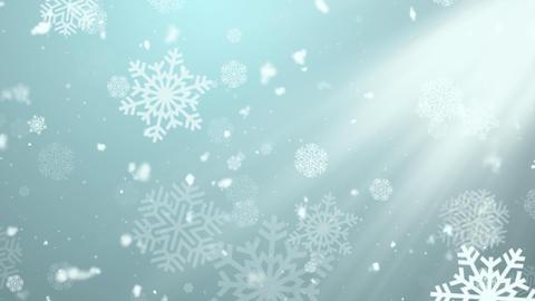 Christmas Winter Snowflakes 2 Animation